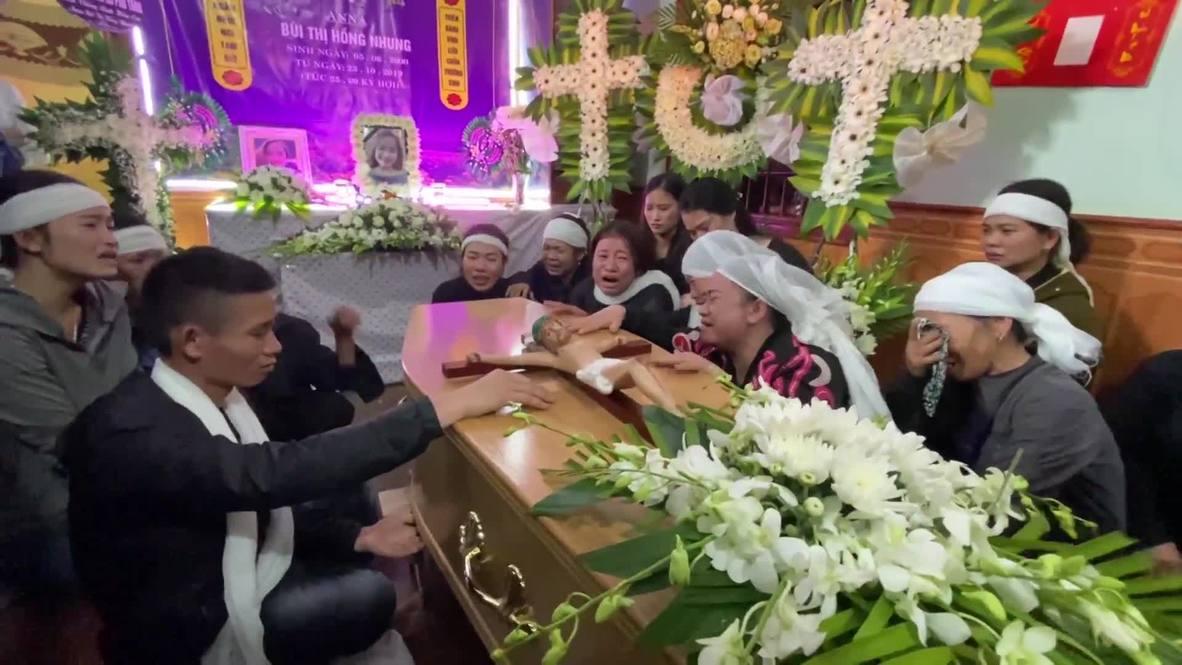 Vietnam: Última de las 39 víctimas del camión de Essex repatriada a su ciudad natal