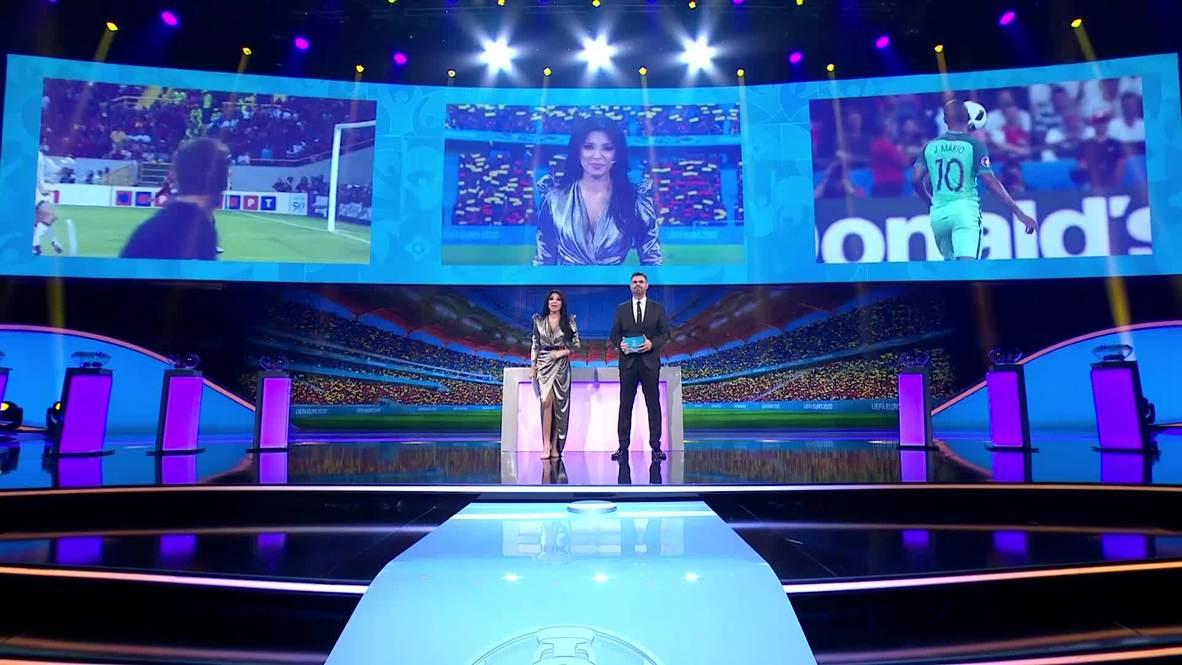 Romania: UEFA Euro 2020 groups drawn in Bucharest
