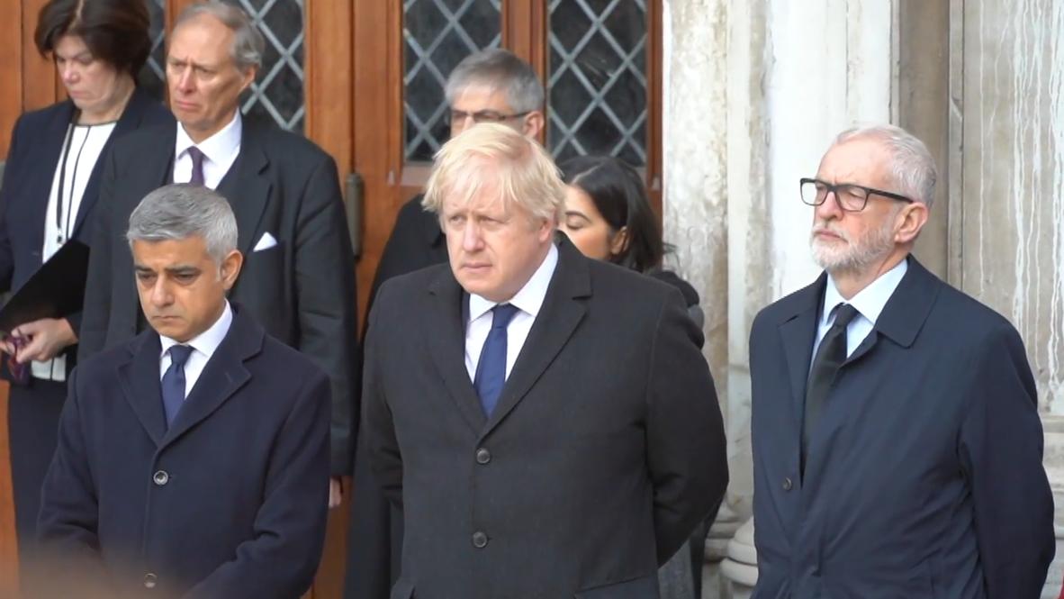 UK: Political leaders attend vigil for London Bridge attack victims