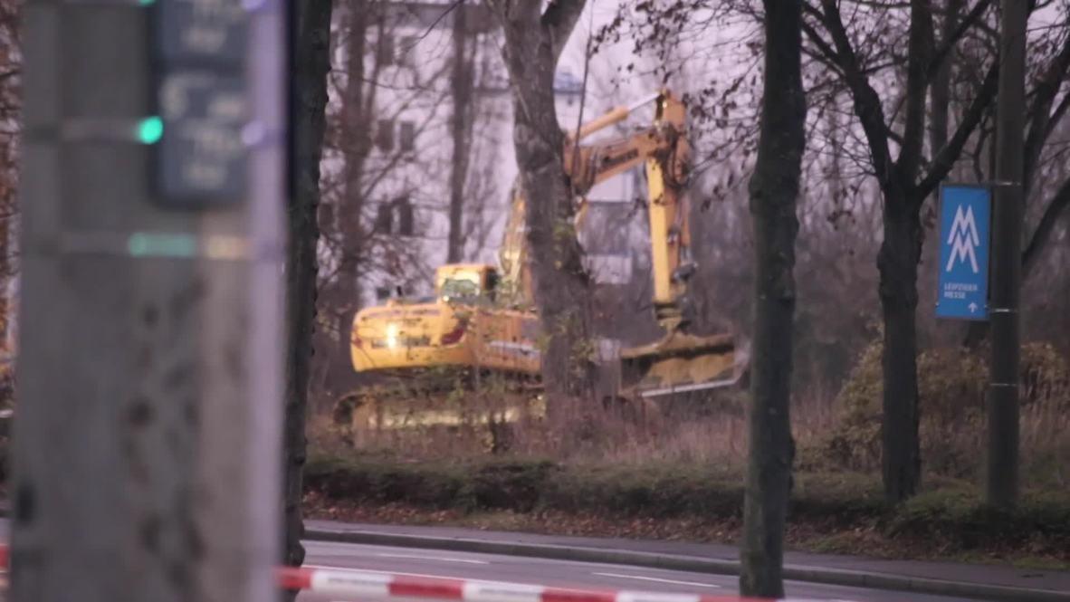 Alemania: Descubren bomba de la Segunda Guerra Mundial durante trabajos de construcción en Leipzig