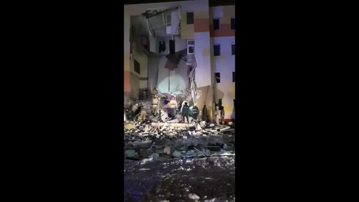 Россия: Взрыв бытового газа прогремел в жилом доме в Белгородской области