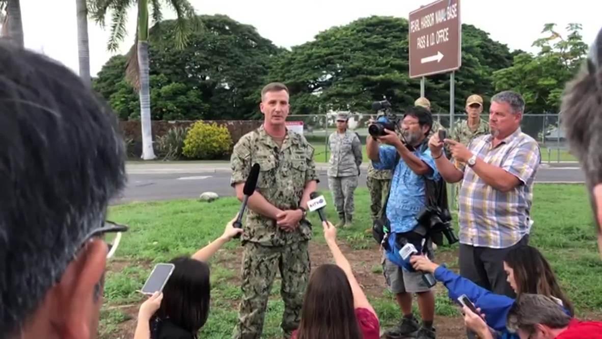 EE.UU.: Tiroteo en la base de Pearl Harbor deja tres muertos, incluido el atacante- Portavoz de la Marina