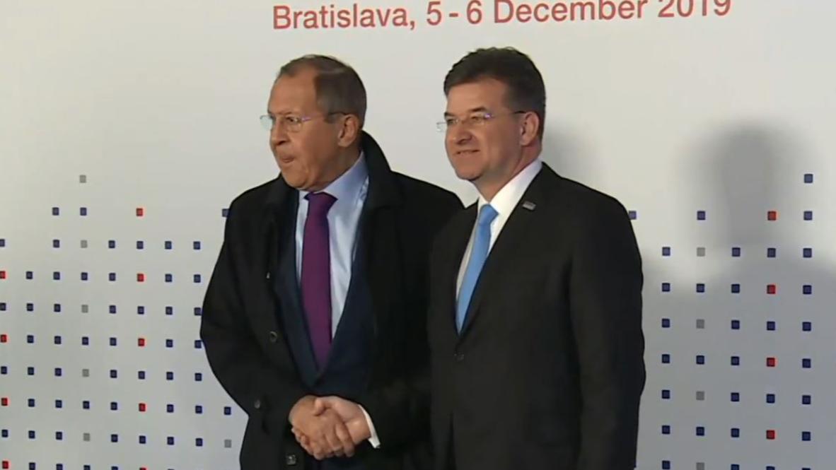 Словакия: Сергей Лавров прибыл на 26-ую встречу Совета Министров ОБСЕ