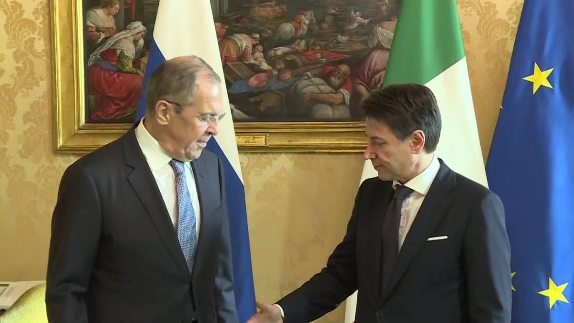 Италия: Лавров проводит переговоры в Риме в ходе рабочего визита