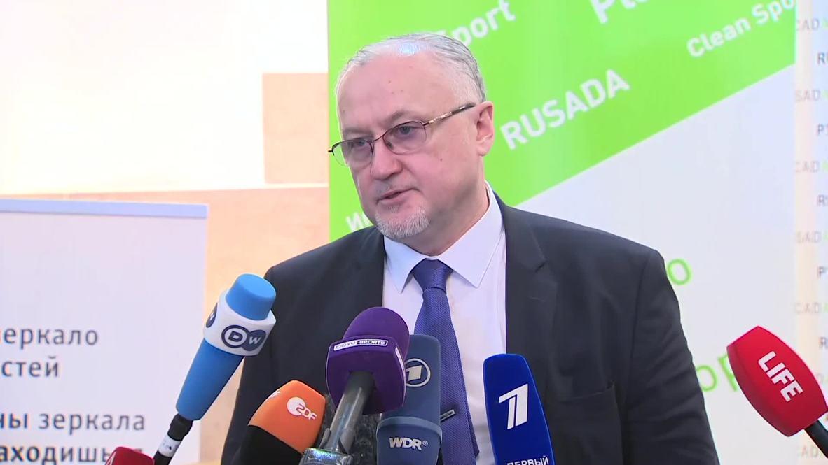 Rusia: 'No hay perspectivas' de apelar la decisión de la WADA - director de la RUSADA