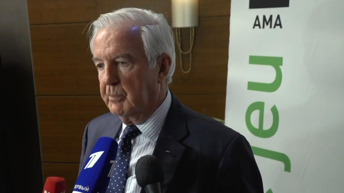 """Suiza: """"Esperaba que cerráramos el asunto"""" - presidente de la WADA sobre sanción a Rusia"""