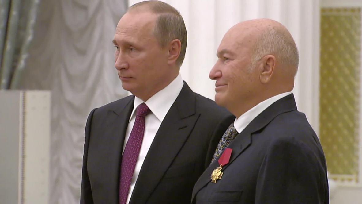 Former Moscow mayor Yury Luzhkov dies in Munich aged 83 *ARCHIVE*