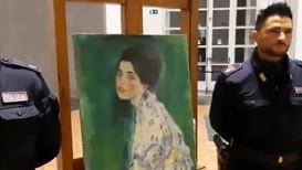 Italy: 'Stolen' Klimt painting found inside Italian gallery's walls