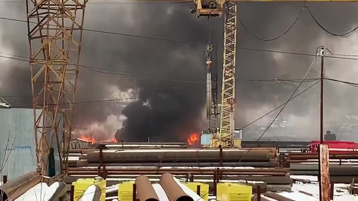 Россия: Пожар на уральском заводе лакокрасочных изделий локализован – МЧС