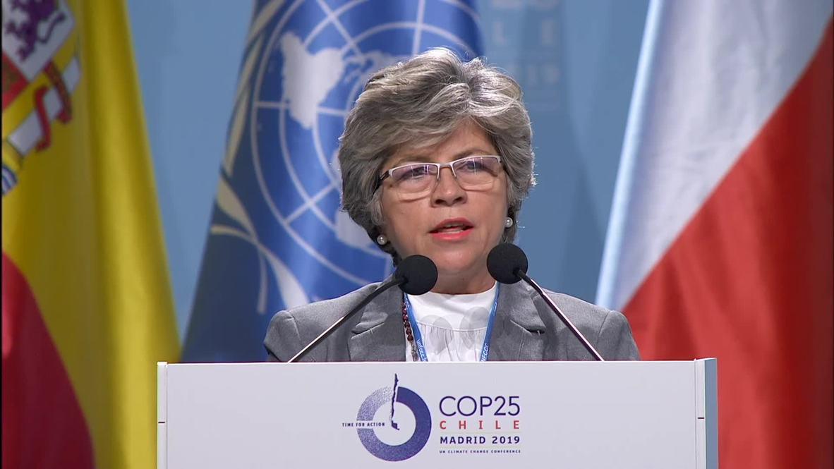 """España: """"Salvemos la Amazonía"""" - Ministra de Medioambiente de Bolivia en la COP25"""