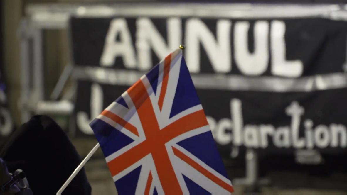 Hong Kong: Manifestantes piden al Reino Unido que ponga fin a la declaración conjunta con China