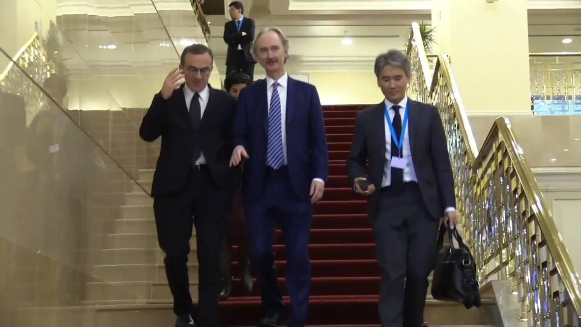 Kazakhstan: UN Envoy Pedersen hopes next Astana format meeting will be in January