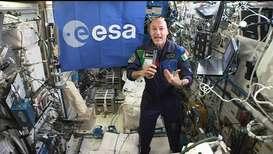 España: Comandante del EEI se une a Guterres en la COP25 desde el espacio