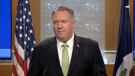 EE.UU.: Pompeo anuncia sanciones contra compañías de transporte de Irán