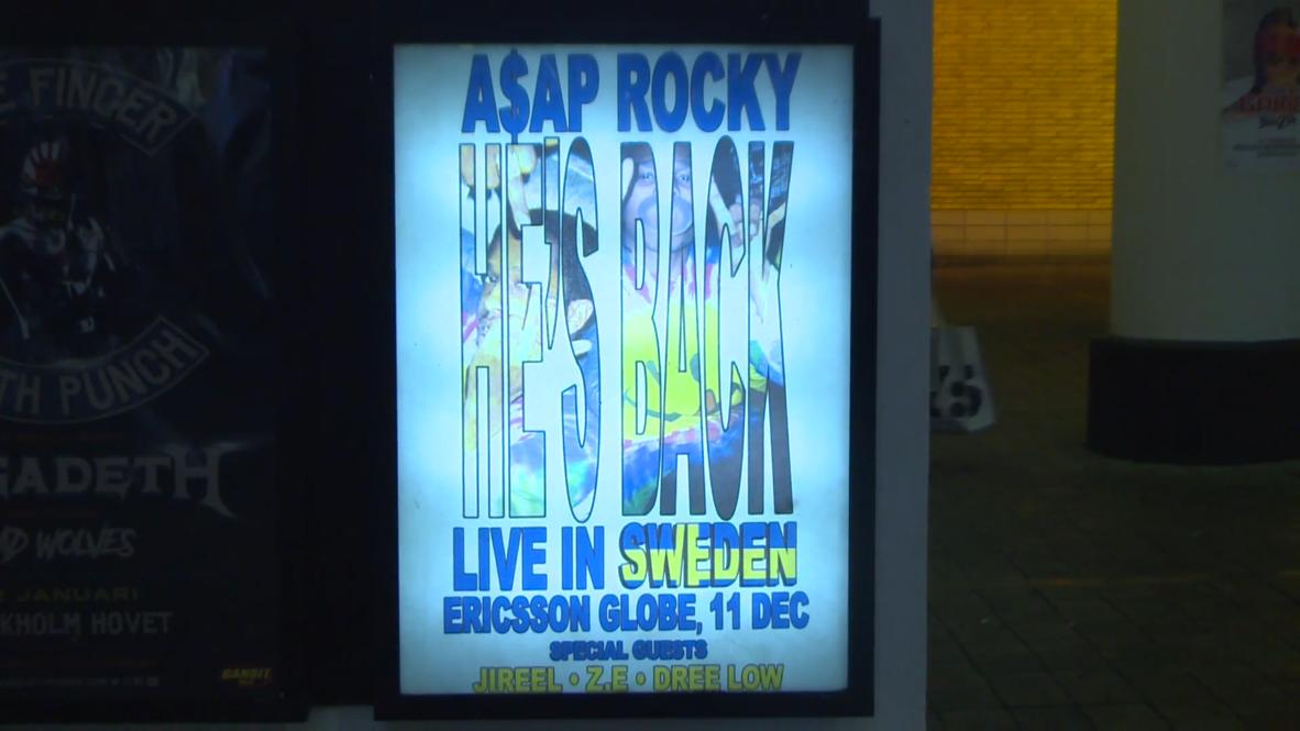 Sweden: A$AP Rocky returns to Stockholm for concert months after suspended sentence