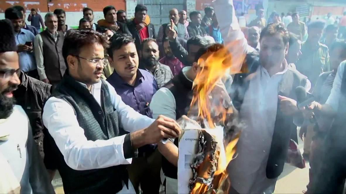 India: Protesters slam citizenship bill for creating 'Hindu-Muslim divide'