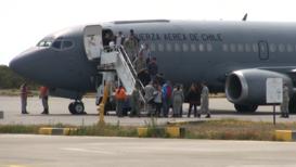 Chile: Familiares de los desaparecidos en el avión Hércules C-130 llegan a Punta Arenas