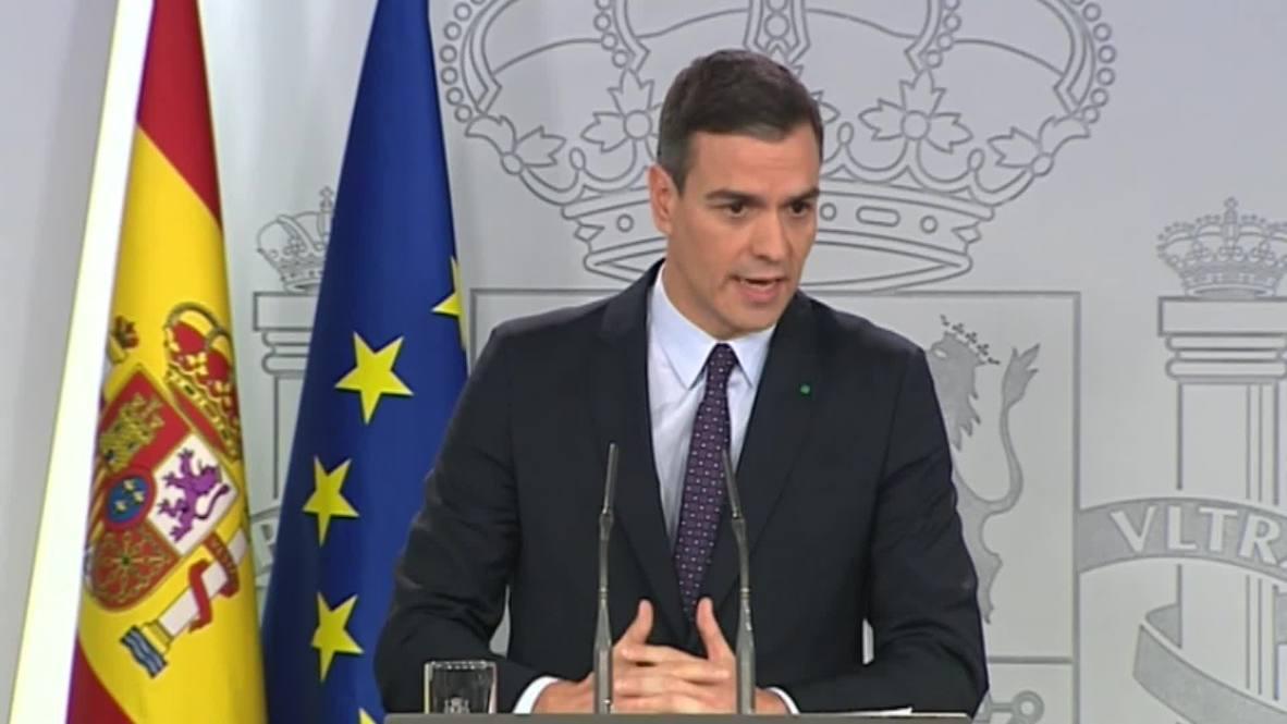 España: Pedro Sánchez acepta el encargo del rey Felipe VI para formar gobierno