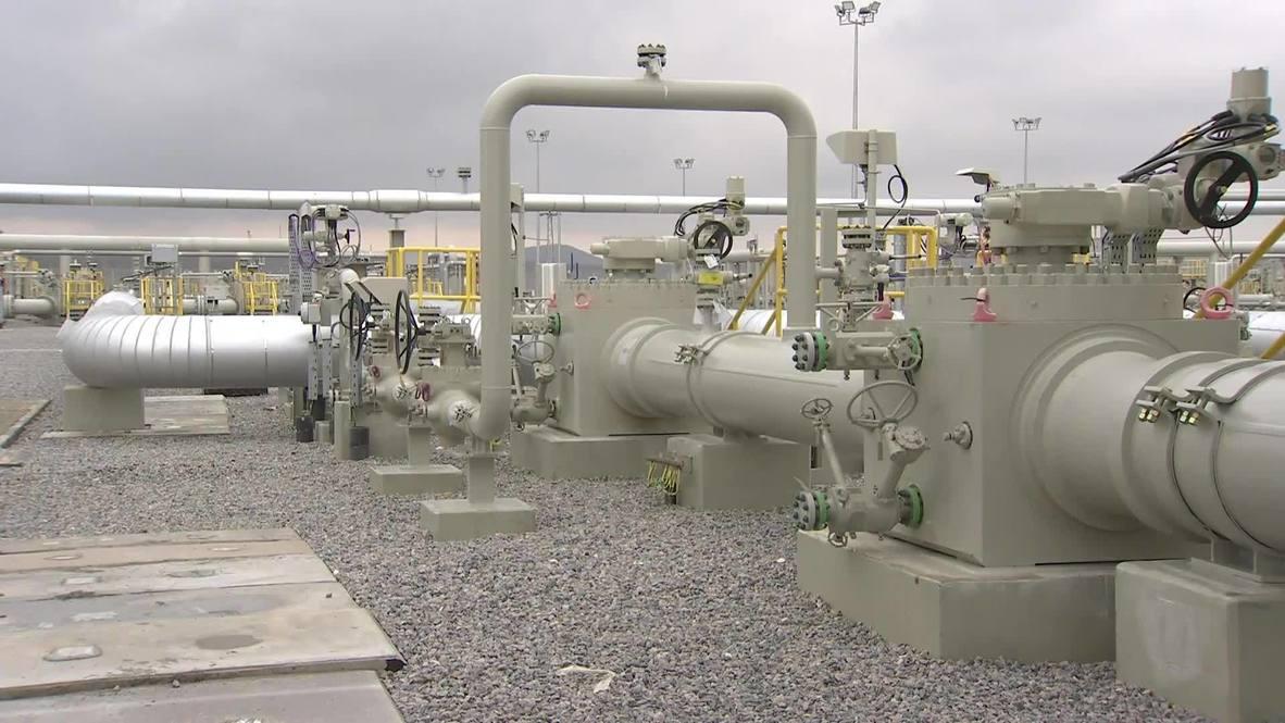 """تركيا: الانتهاء من الاختبارات على مشروع """"ترك ستريم"""" لإيصال الغاز الروسي إلى أوروبا عبر تركيا"""