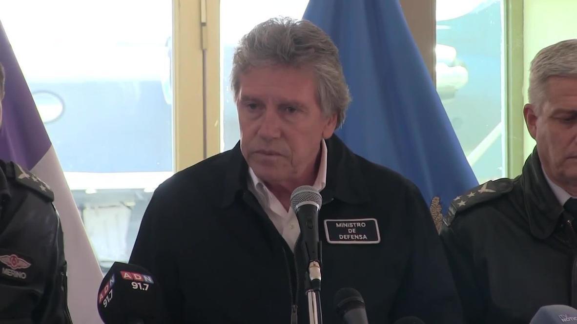 Chile: No possible survivors as human remains found at plane crash site