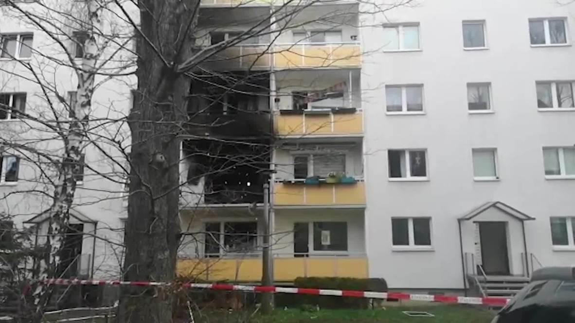 Germany: Firefighters on scene of deadly Blankenburg building explosion