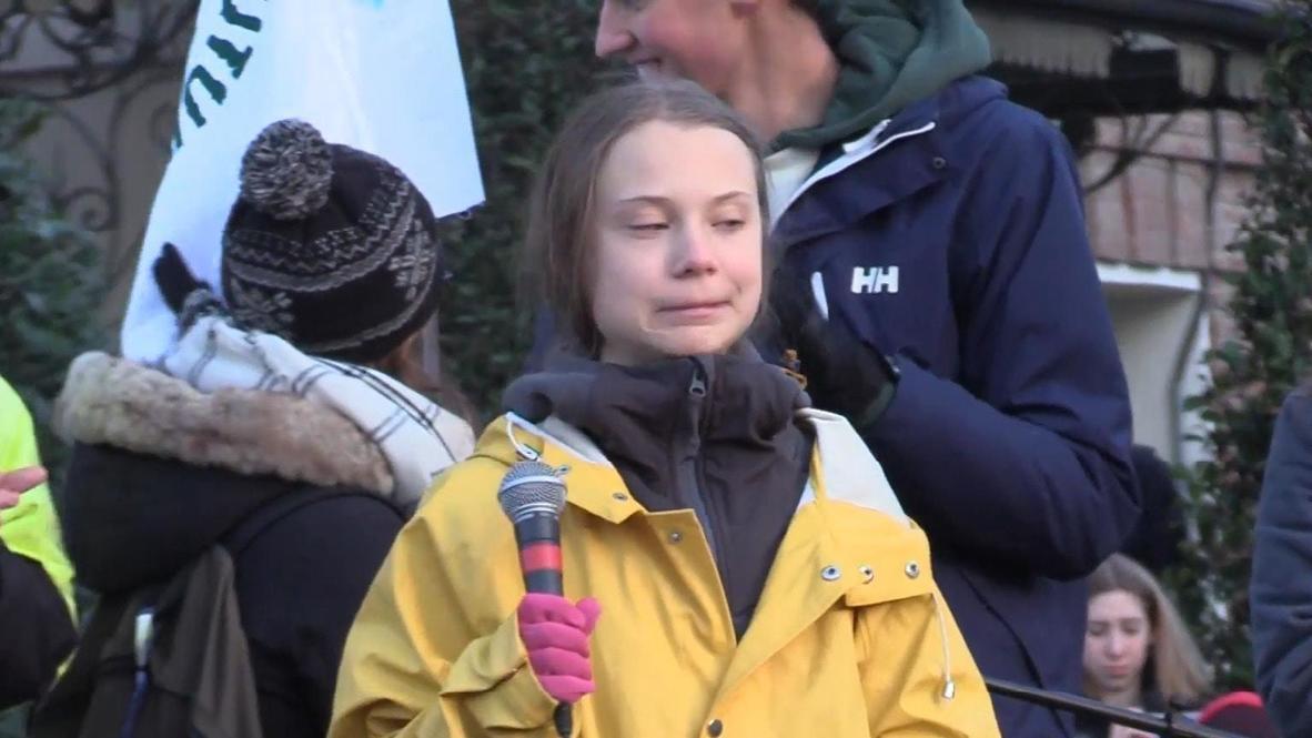 Italia: Greta Thunberg se une a manifestación de 'Fridays for Future' en Turín