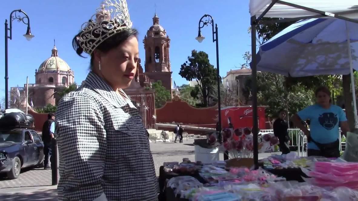 México: Coronan a la primera reina con síndrome de Down en la Feria de Guadalupe