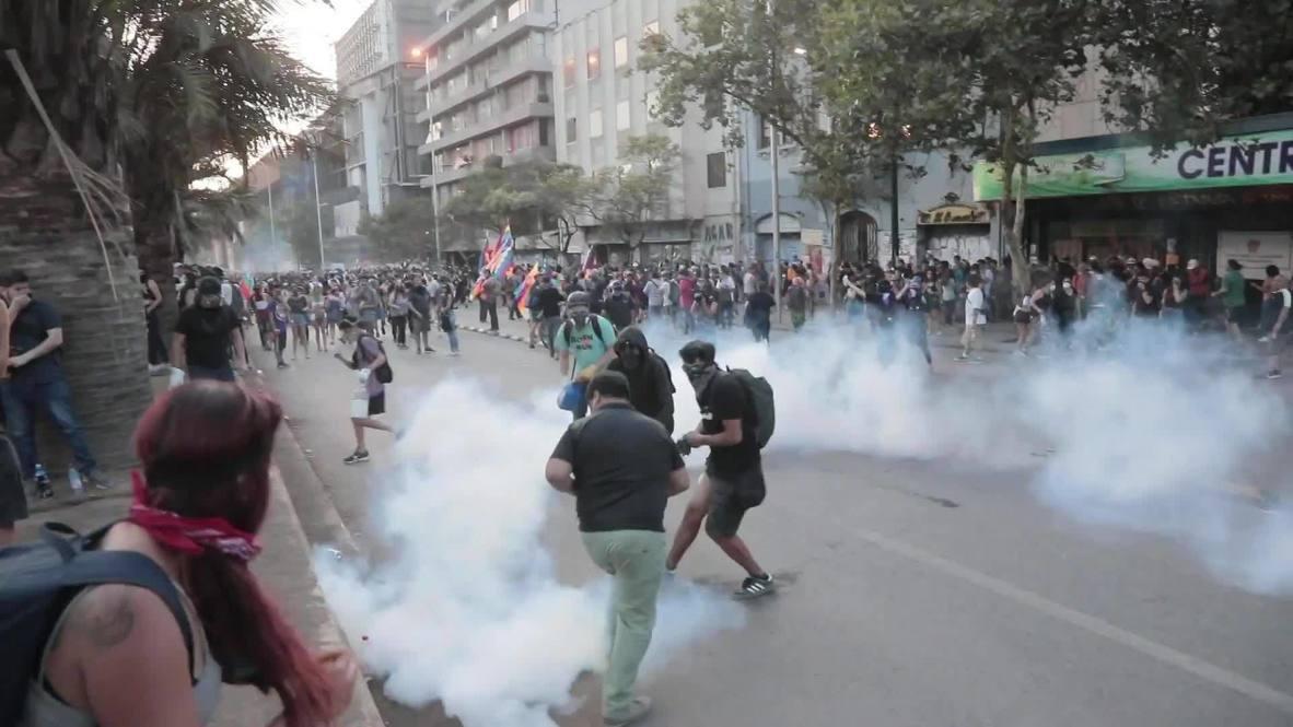 Chile: Disturbios en Santiago tras el informe de la ONU sobre las violaciones de derechos humanos