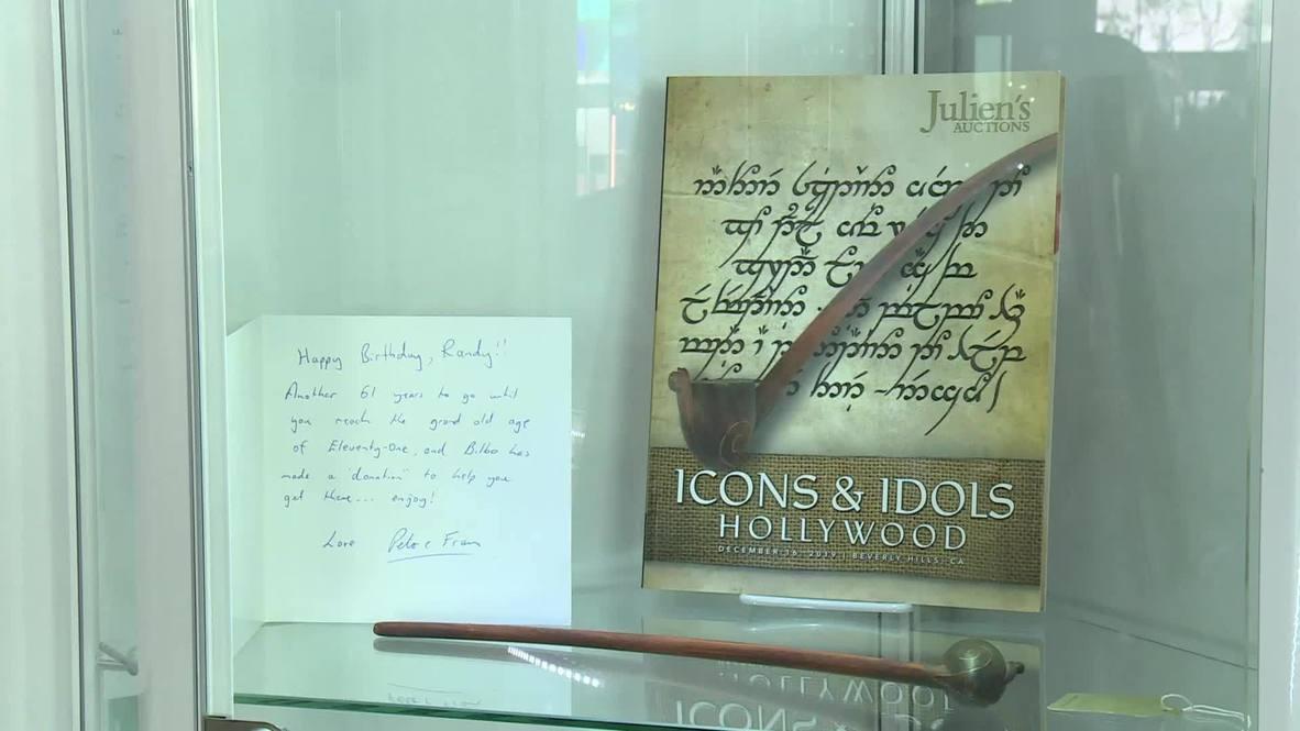 La pipa de Bilbo Bolsón, la capa de Superman y otros artículos serán subastados en Hollywood