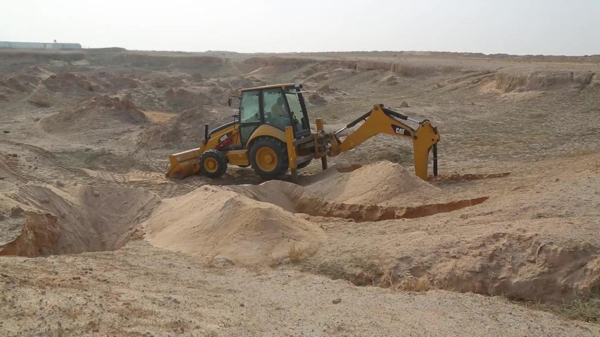 Irak: descubren nuevas  fosas comunes en las cercanías de Náyaf