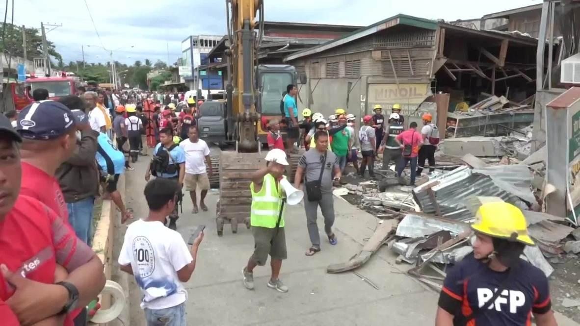 Philippines: 6.8 magnitude earthquake hits the island of Mindanao