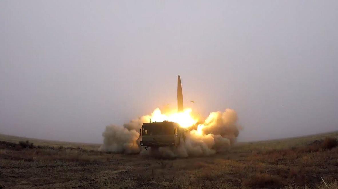 روسيا: اختبار منظومة صواريخ اسكندر-إم ضمن تدريبات عسكرية في أستراخان