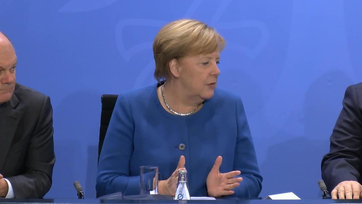 Alemania: Merkel subraya la necesidad de trabajadores cualificados de fuera de la UE