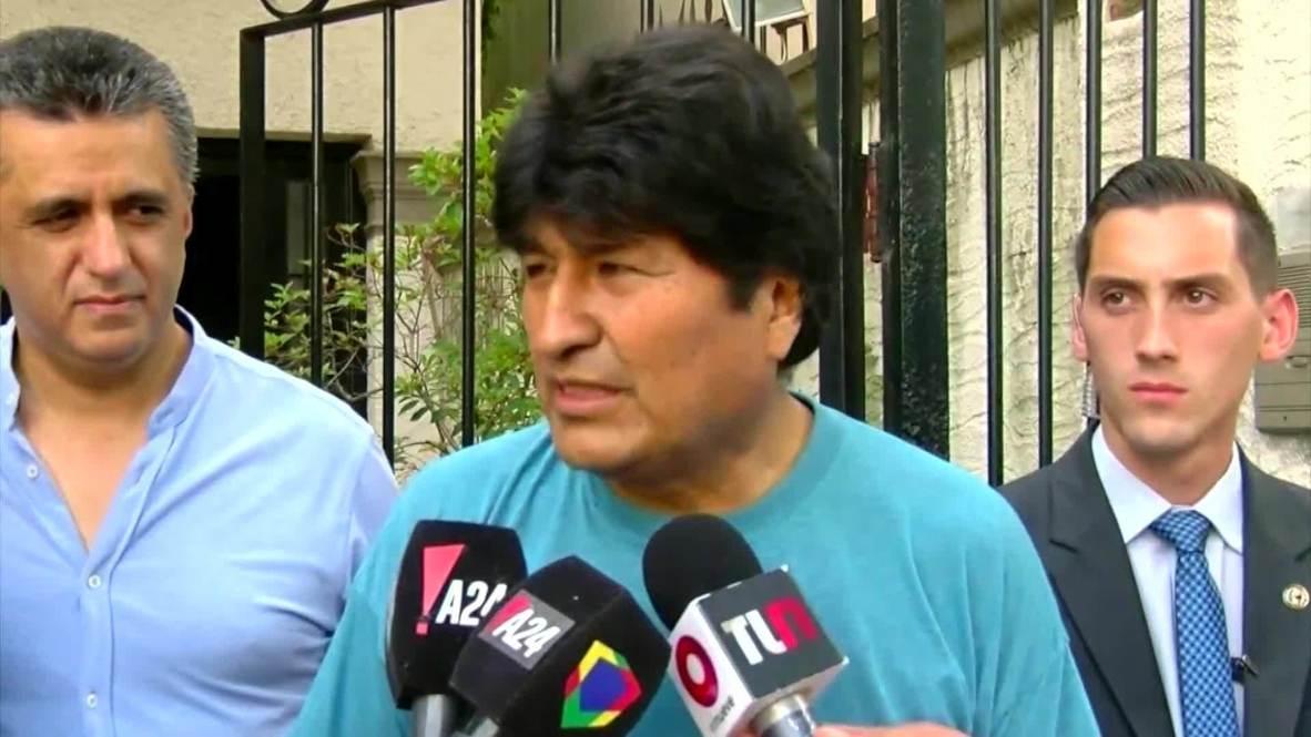 Argentina: Morales not afraid of 'unjust, unlawful and unconstitutional' arrest warrant