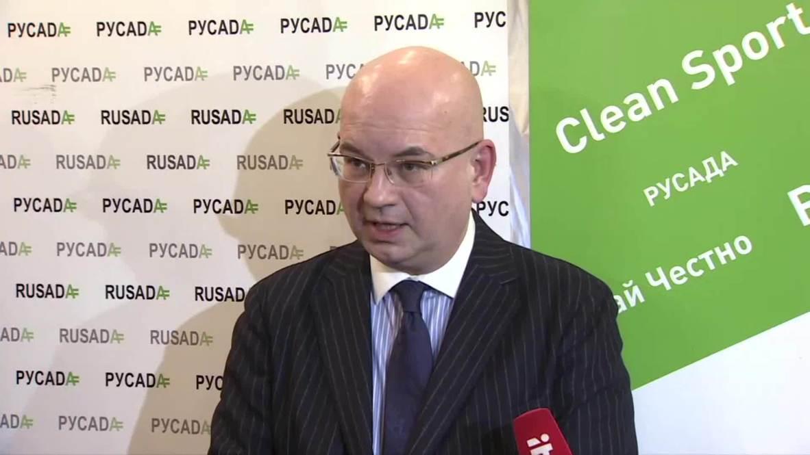 Russia: RUSADA to appeal WADA ban