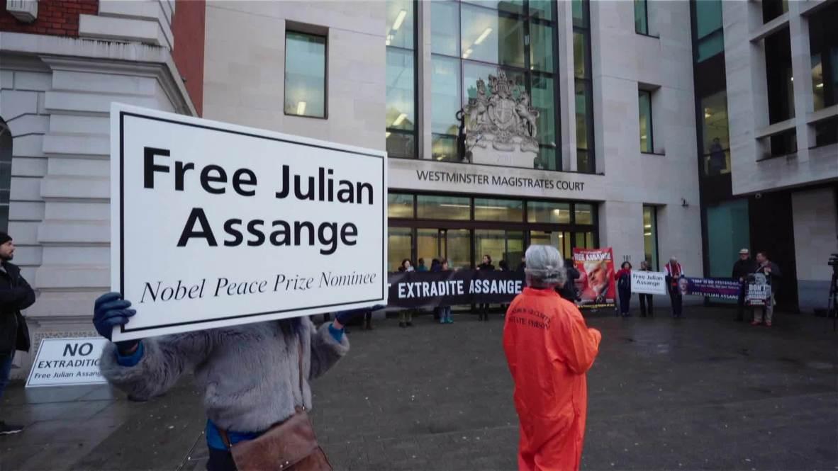 UK: Medical experts denied access to Assange case management hearing