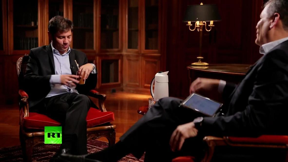 Gobernador de Buenos Aires Axel Kicillof es entrevistado en 'Conversando con Correa' *CONTENIDO DE SOCIOS*
