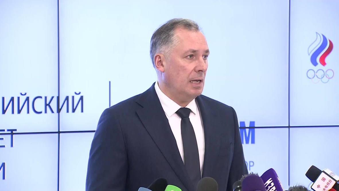 Россия: ОКР может выступить третьей стороной в разбирательствах с WADA - президент ОКР