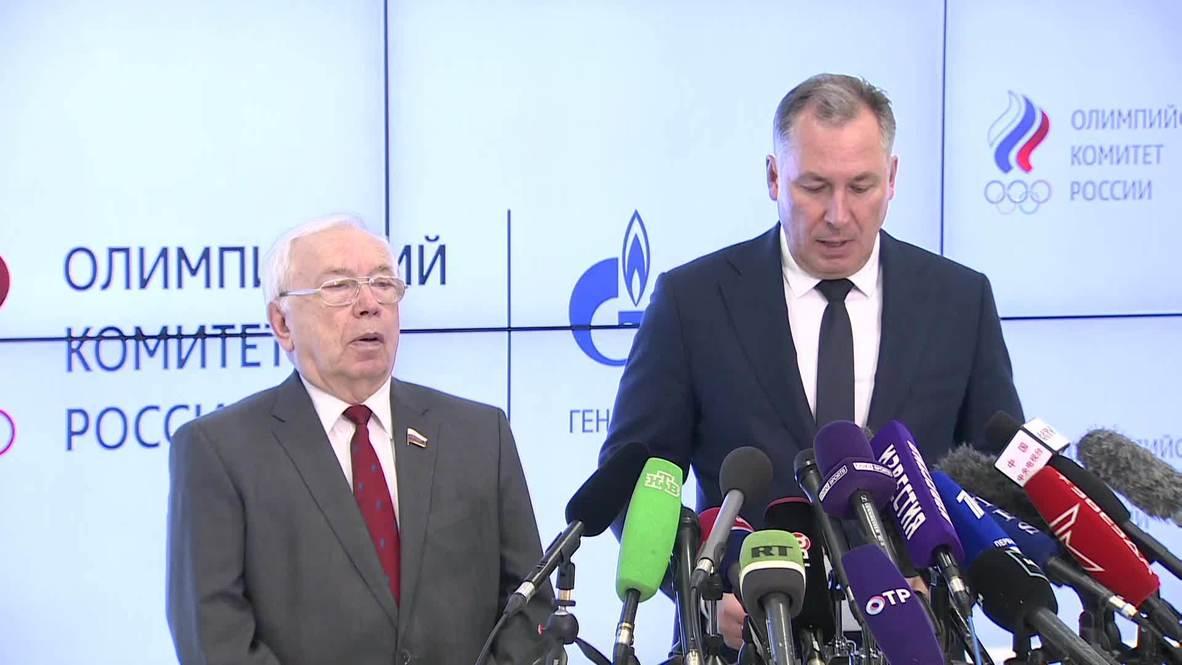 Россия: РУСАДА отправит официальный ответ WADA до 27 декабря – президент ОКР
