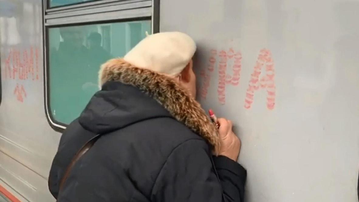 Russia: Sevastopol welcomes first passenger train from Saint Petersburg