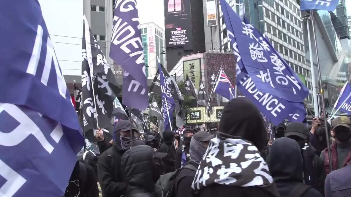 Гонконг: Более миллиона человек приняли участие в антиправительственных акциях протеста
