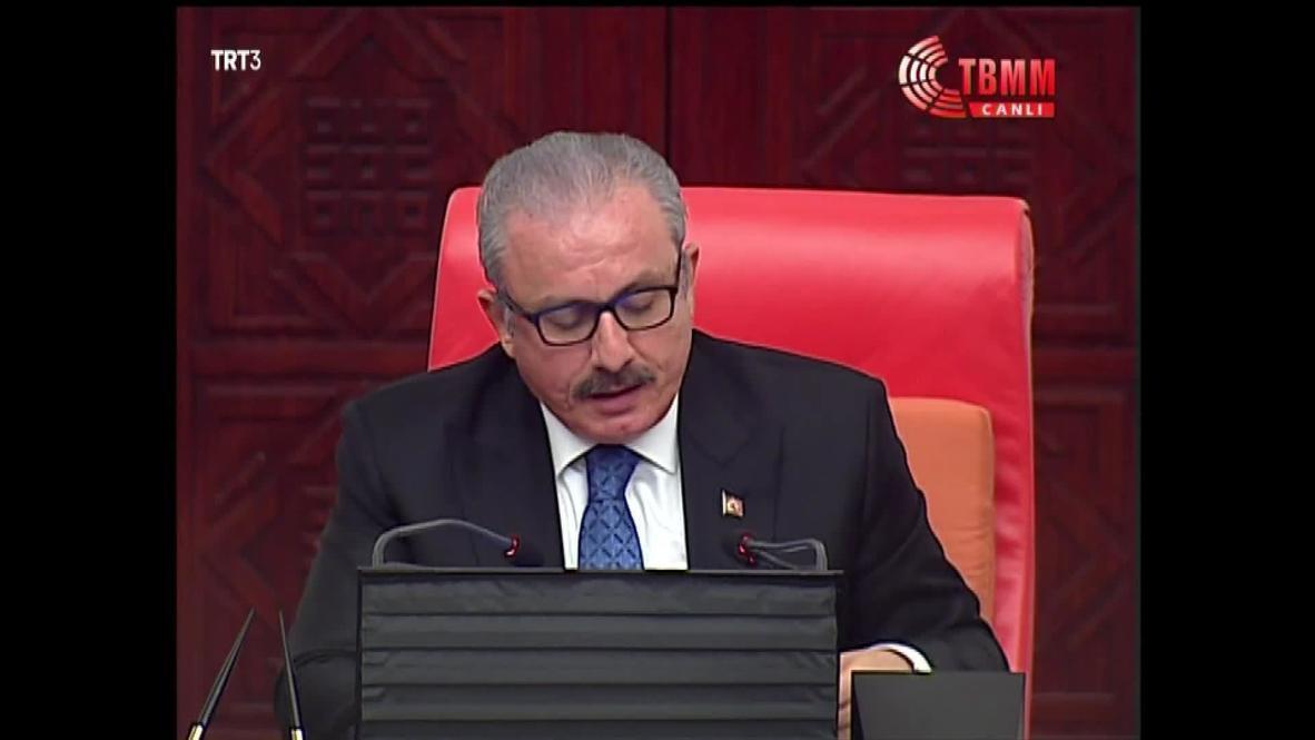 Turquía: Parlamento turco aprueba una ley para desplegar tropas en Libia