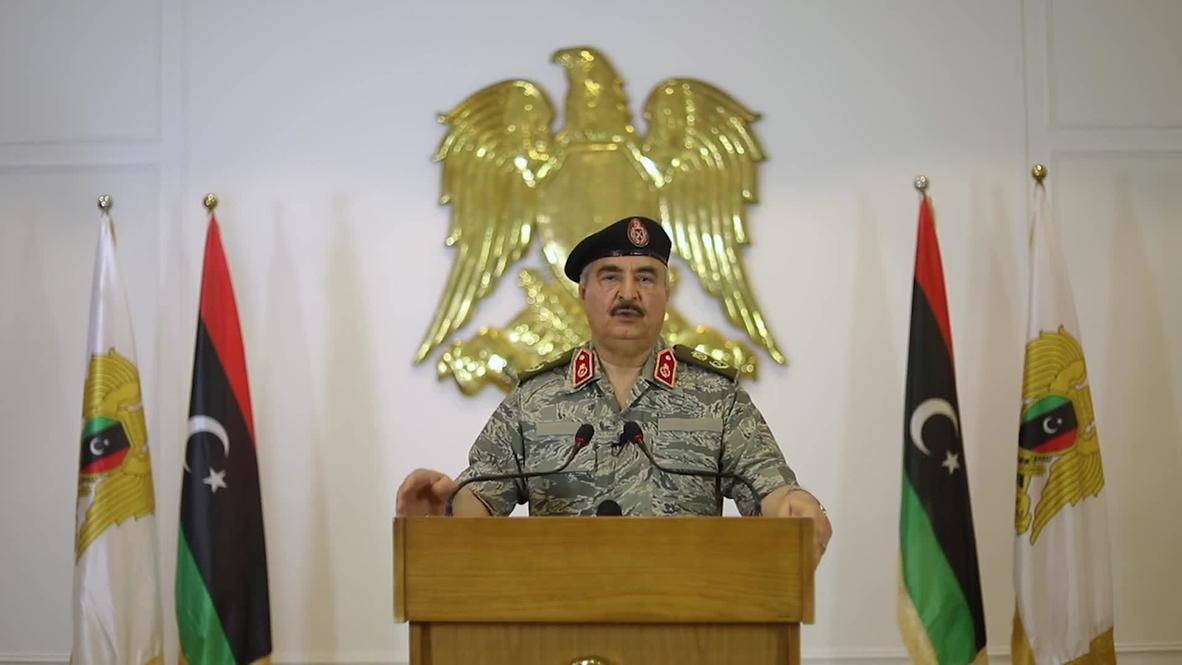 """Libia: Haftar declara la """"yihad"""" contra el despliegue de las tropas turcas"""
