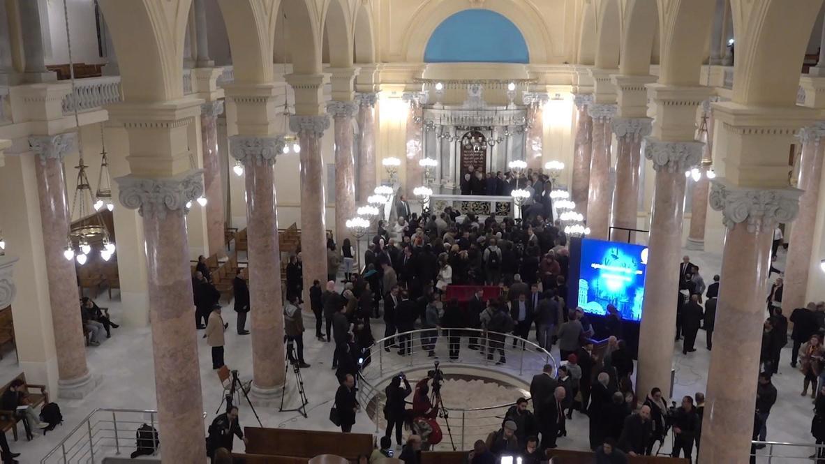 مصر: إعادة افتتاح المعبد اليهودي في الإسكندرية بعد 3 سنوات من الترميم
