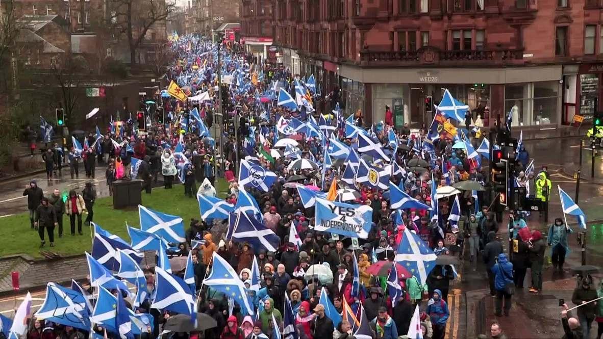 UK: Scottish independence movement mobilises against Brexit