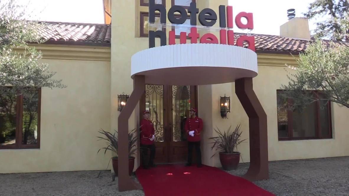 'Hotella Nutella' spreads choco joy in California's Napa Valley