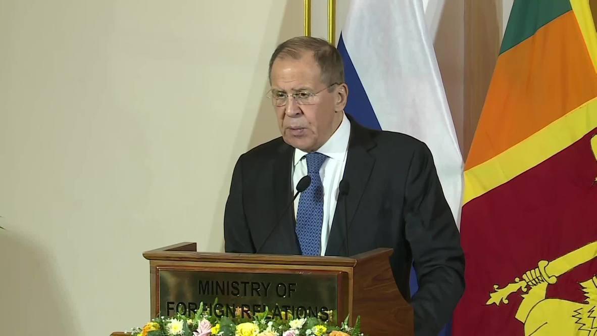 Sri Lanka: 'Libyan statehood was bombed by NATO' - Lavrov