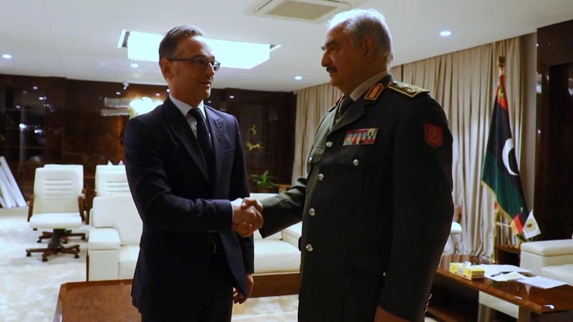 Libia: Canciller alemán se reúne con Haftar antes de la conferencia de Berlín