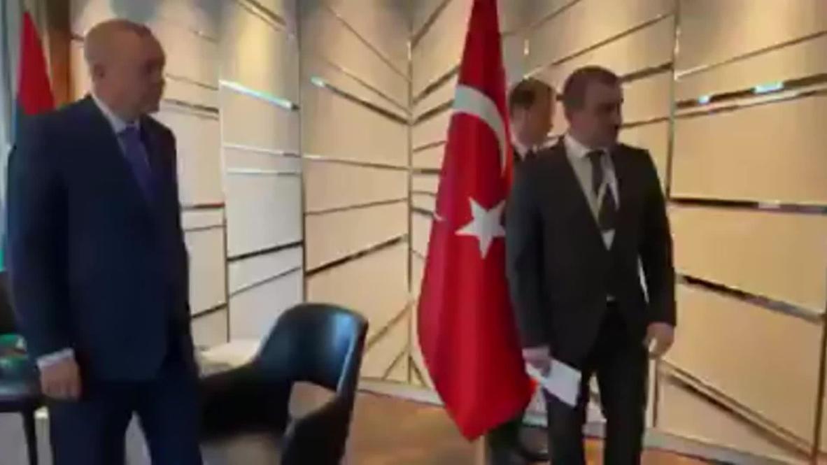 ألمانيا: أردوغان يلتقي السراج قبيل انطلاق مؤتمر برلين بشأن ليبيا