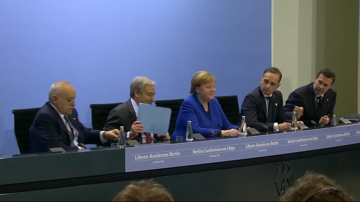 ألمانيا: غوتيريش يؤكد التزام قادة العالم بالكامل بتحقيق السلام في ليبيا